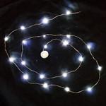 """Waterproof LED string light - 42""""  White"""