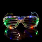 Multicolor LED Shutter Glasses