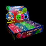 LED Spike Yoyo Balls Asst. 12 Pk