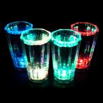 Liquid Activated Shot Glass Multicolor