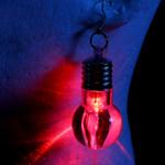 Assorted LED Light Up Bulb Earrings