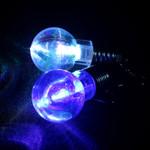 LED Light Up Bulb Earrings