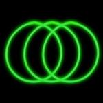 "22"" Green Premium Glow Necklaces (50 Pack)"