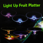 LED Round Pedestal Platter
