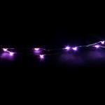 LED Glimmer Lights in Pink