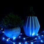 LED Glimmer Lights in Blue