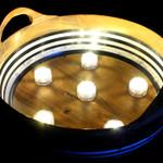 Waterproof Flower Tea Lights Warm White - 12 Pack
