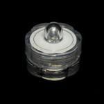 Waterproof Flower Tea Lights White - 12 Pack