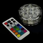 Multicolor Submersible Flower Shape Tea Light