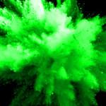 Powder Cannon Green Burst