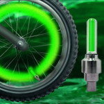 Bicycle Wheel Light - Green