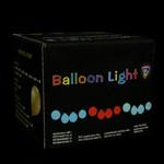 LED Balloon String Lights - 13 feet/10 Balloons - Pink