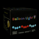 LED Balloon String Lights - 13 feet/10 Balloons - Blue