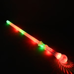 28'' Multicolor LED Sword with Prism Ball