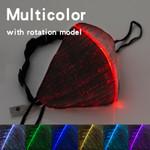 Multicolor LED light Up Face Masks