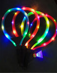 Orange LED Light up Badminton Set