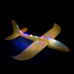 Orange LED Light Up Glider Plane - 2 Pack