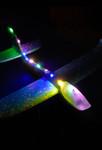 Green LED Light Up Glider Plane - 2 Pack