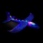 Blue LED Light Up Glider Plane - 2 Pack