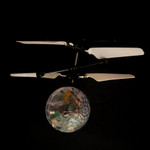 Multicolor LED Gravity Motion Hover Ball
