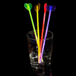 "9"" Assorted Glow Stir Sticks (4 Pack)"