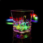 Multicolor LED Light Up Whiskey Ice Cup