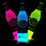Glow Bottle Collars 6 Pk Blue