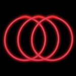 "22"" Premium Glow Necklaces Red (50 per Pack)"