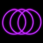 "22"" Premium Glow Necklaces Purple (50 per Pack)"