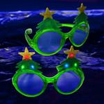 LED Christmas Tree Glasses