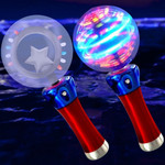 LED Star Spinner Wand: Multicolor