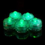 Green Waterproof Tea Lights-12 Pack