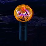 LED Pumpkin Spinner Wand
