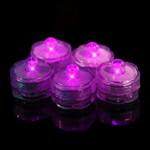 Pink Waterproof Tea Lights-12 Pack