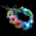 Multicolor Light up Flower Halo