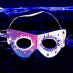Glow Mask: Mardis Gras