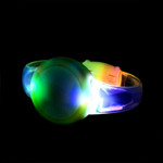 Multicolor LED Sound Activated Circle Bracelet