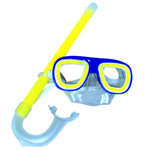 Yellow Glow Mask and Snorkel