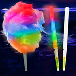 "12"" Multicolor LED Cotton Candy Cone"
