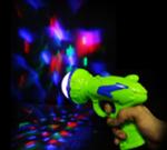 RGB LED Light Up Prism Ball Gun