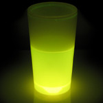 Atomic Glow Tumblers Yellow