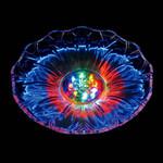 Round Flower LED Light Up Plate - Large