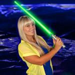 LED Light Saber Sword (Green)