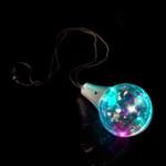 """32"""" Multicolor Disco Ball Prism Necklace"""