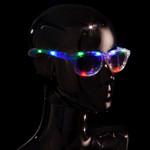 RGB Light Up Retro Sunglasses