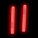 "1.5"" Red Mini Glow Sticks (50 Pack)"