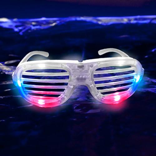 4b700d8498 LED Shutter Glasses Red