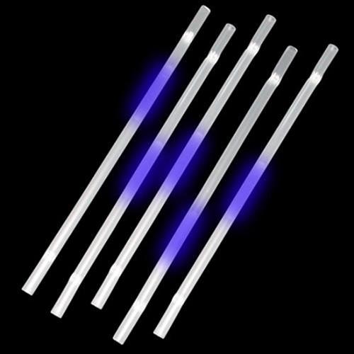 Blue Glow Straws (25 Per Pack!)