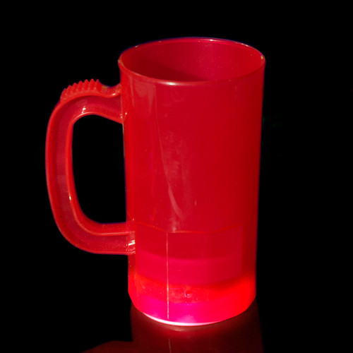Translucent Mug 14oz.- Red