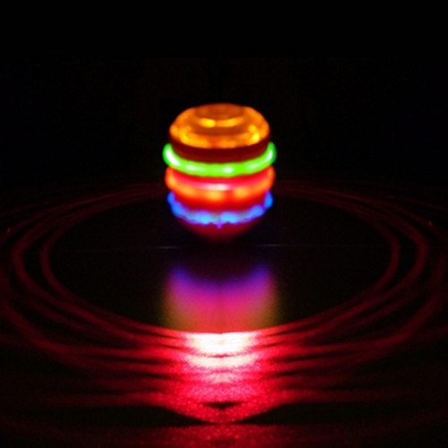 LED SPINNING LASER TOP - 3 PACK ASSORTED COLORS